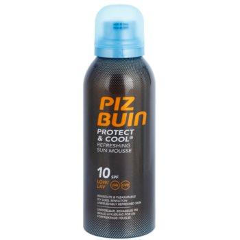 Piz Buin Protect & Cool Espuma refrescante de proteção solar SPF 10