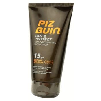 Piz Buin Tan & Protect Lotiune cu protectie solara pentru accelerarea bronzului SPF 15