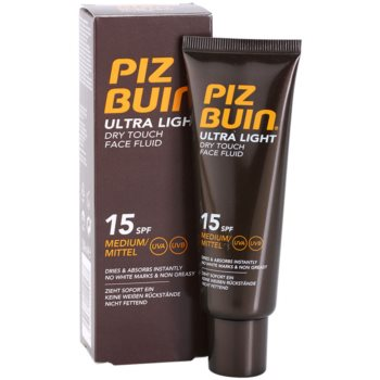 Piz Buin Ultra Light fluid za obraz SPF 15 1