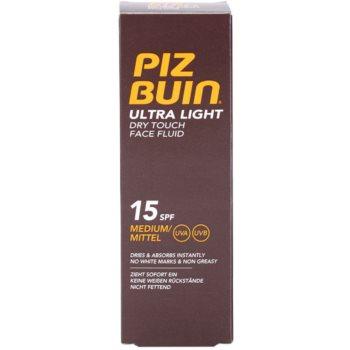 Piz Buin Ultra Light fluid za obraz SPF 15 3