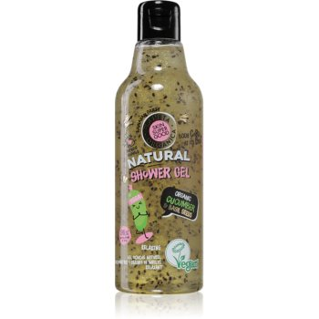 Planeta Organica Organic Cucumber & Basil Seeds gel de dus relaxant poza