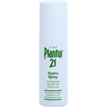 Plantur 21 spray nawilżający do ochrony włosów przed wysoką temperaturą
