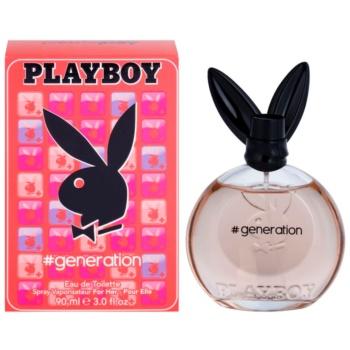 Playboy Generation Eau de Toilette pentru femei 90 ml