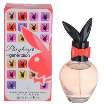 Playboy Generation Eau de Toilette pentru femei 50 ml