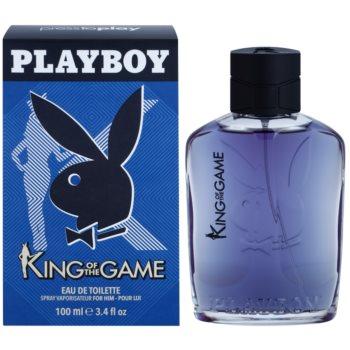 Playboy King Of The Game Eau de Toilette for Men