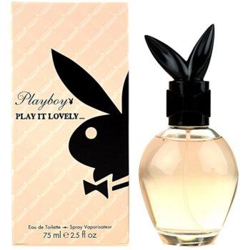 Playboy Play It Lovely Eau de Toilette pentru femei 75 ml