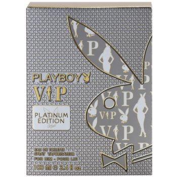 Playboy VIP Platinum Edition Eau de Toilette für Herren 4