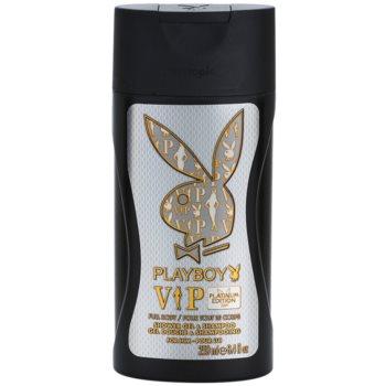 Playboy VIP Platinum Edition sprchový gel pro muže