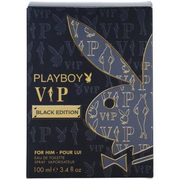 Playboy VIP Black Edition Eau de Toilette for Men 4