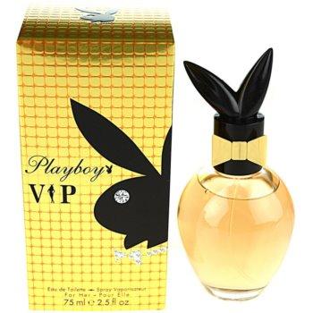 Playboy VIP toaletní voda pro ženy 75 ml