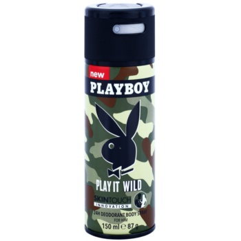 Playboy Play it Wild Deo Spray for Men