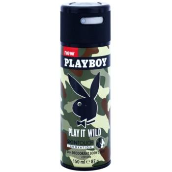 Playboy Play it Wild deospray pentru barbati 150 ml