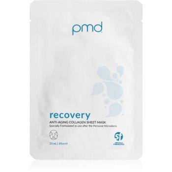 PMD Beauty Recovery masca de colagen anti-imbatranire si de fermitate a pielii poza noua