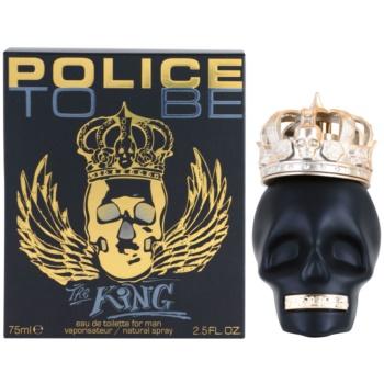 Police To Be The King Eau de Toilette pentru barbati 75 ml