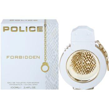 Police Forbidden Eau de Toilette pentru femei 100 ml