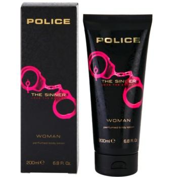 Police The Sinner Lapte de corp pentru femei 200 ml