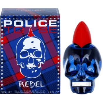 Police To Be Rebel eau de toilette pentru bărbați