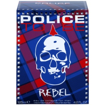 Police To Be Rebel Eau de Toilette für Herren 1