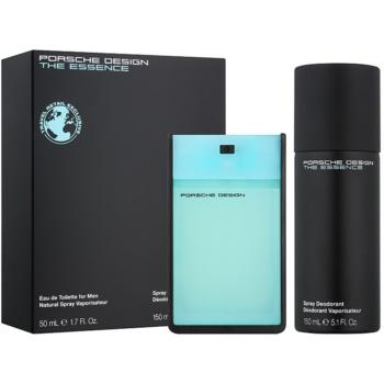 Porsche Design The Essence dárková sada VIII. toaletní voda 50 ml + deodorant ve spreji 150 ml