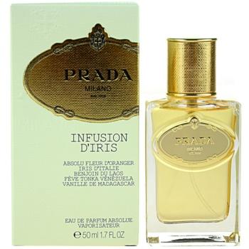 Prada Milano Infusion DIris Absolue Eau De Parfum pentru femei 50 ml