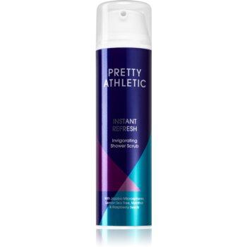 Pretty Athletic Instant Refresh Exfoliant pentru corp cu efect de improspatare.