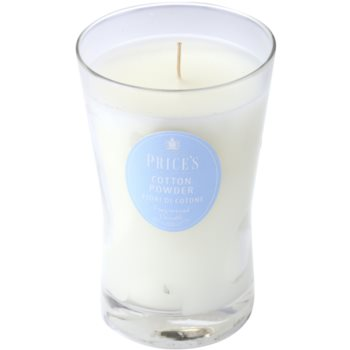 Price´s Cotton Powder Scented Candle   Large