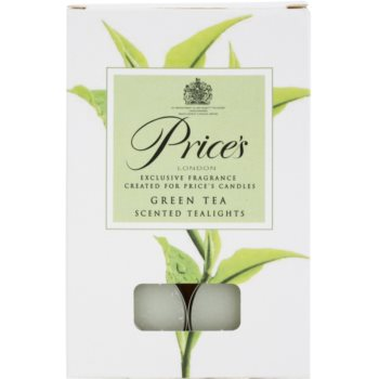 Price´s Green Tea vela do chá