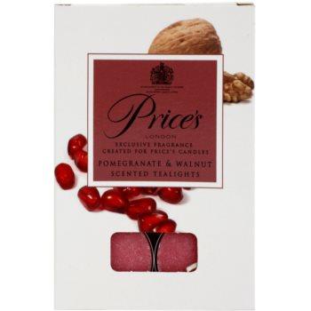Price´s Pomegranate & Walnut čajová svíčka