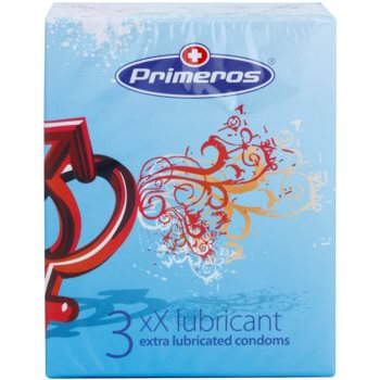 Primeros xX Lubricant extra lubrikované kondómy