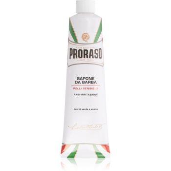 Proraso White Rasierseife für empfindliche Haut in der Tube 150 ml