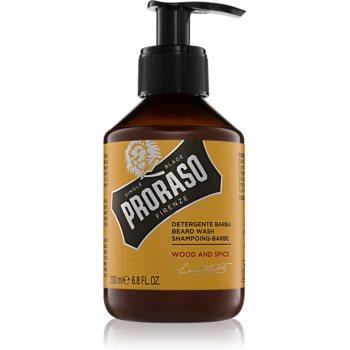 Proraso Wood and Spice șampon pentru barbă
