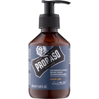 proraso azur lime șampon pentru barbă