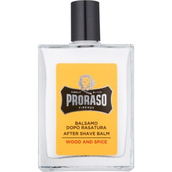 Proraso Wood and Spice balsam hidratant dupa barbierit