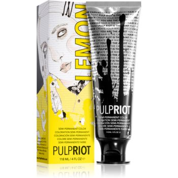 Pulp Riot Semipermanents Haartönung Lemon 118 ml