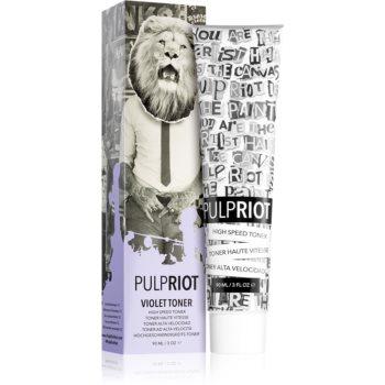 Pulp Riot Toner Tönung-Haarfarbe für blondiertes Haar oder Strähnchen Violet 90 ml