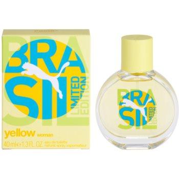 Puma Yellow Brasil Edition (2014) Eau de Toilette pentru femei