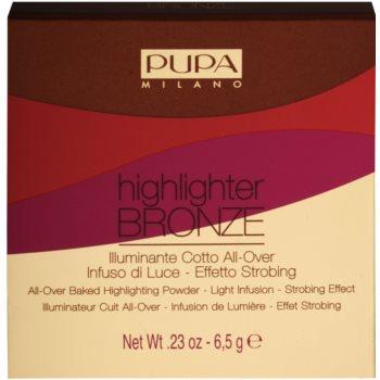 Pupa Highlighter Bronze puder za osvetljevanje za obraz 2