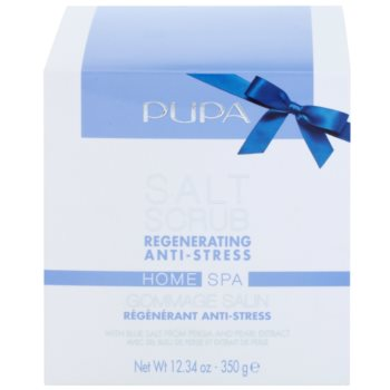 Pupa Home SPA Regenerating Anti-Stress regenerierendes Peeling-Salz gegen Stress 1