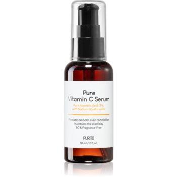 Purito Pure Vitamin C Ser pentru hidratare intensiva anti-imbatranire cu vitamina C