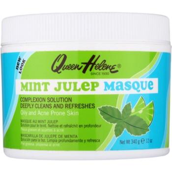 Queen Helene Mint Julep masca pentru tenul gras, predispus la acnee