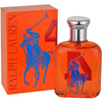 Ralph Lauren The Big Pony 4 Orange toaletní voda pro muže 75 ml