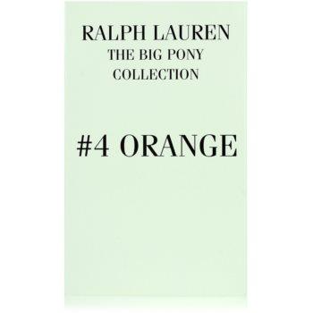 Ralph Lauren The Big Pony 4 Orange тоалетна вода тестер за мъже 3