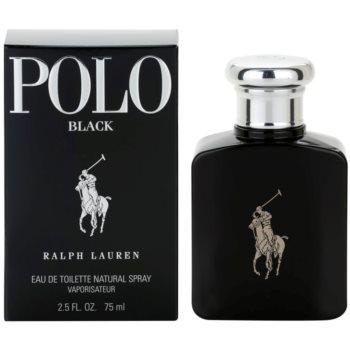 Ralph Lauren Polo Black toaletní voda pro muže 75 ml