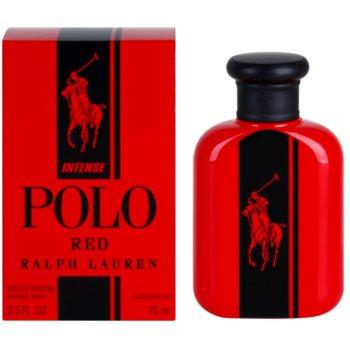 Ralph Lauren Polo Red Intense eau de parfum pentru barbati 75 ml