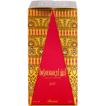 Rasasi Insherah Gold Eau de Parfum unisex 1