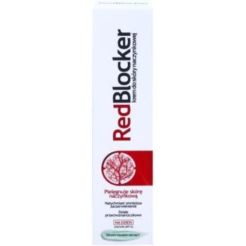 RedBlocker Day Creme mit natürlichen grünen Pigmenten zum Reduzieren von Hautrötungen SPF 15 2