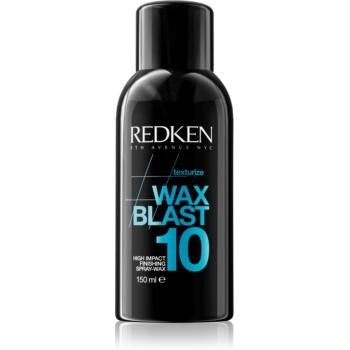 Fotografie Redken Texturize Wax Blast 10 vosk na vlasy pro matný vzhled 150 ml