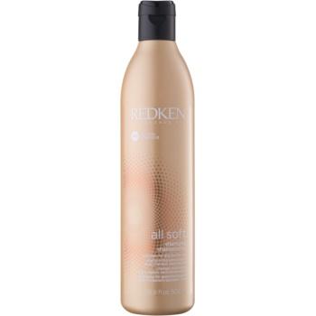Redken All Soft șampon pentru păr uscat și fragil cu ulei de argan
