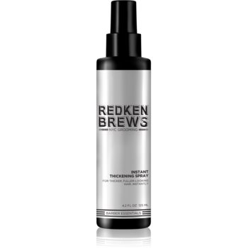 Redken Brews spray pentru volum pentru par fin