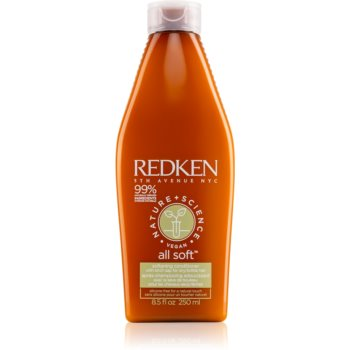 Redken Nature+Science All Soft balsam hidratant pentru păr uscat și deteriorat